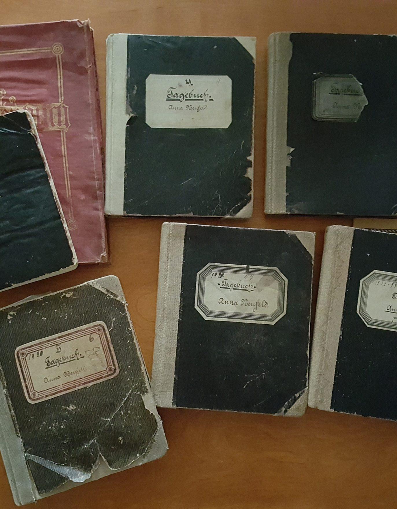 Anna Janzen Neufeld diaries donated